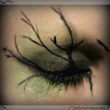 tree makeup del green stargazer laura lee dollar tutorial tree makeup
