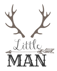 Free Wall Printables Little Man With Horns And An Arrow Free Download Load Print And