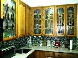 kitchen cabinet glass design kitchen design inspiring stained glass kitchen cabinet doors for modern kitchen glass