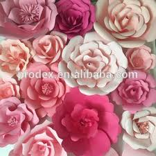Paper Flower Wedding Decorations Wedding Decoration Giant Paper Flower Backdrop Buy Stage