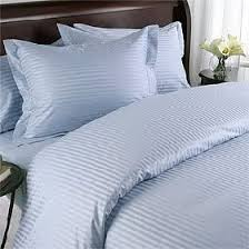 blue striped duvet cover.  Duvet Amazoncom 1000 Thread Count Egyptian Cotton NOT MICROFIBER POLYESTER  KING Size WHITE Stripe Duvet Cover Set  Includes 1 DUVET COVER And 2 PILLOW  Throughout Blue Striped
