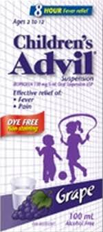 Recall Childrens Advil And Other Advil Liquid Products For