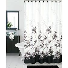 black white fl shower curtain large size of and white fl shower curtain fabric shower curtains