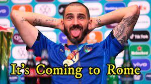 شاهد بونوتشي يسخر من منتخب انجلترا بعد فوز ايطاليا باليورو - YouTube