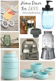 Catchy Mason Jar Kitchen Decor and Mason Jar Kitchen And Home Decor