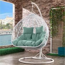 <b>Подвесное кресло Afina</b> AFM-109A White/Green купить в Москве ...