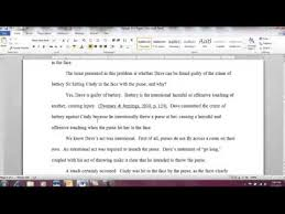 Sample Papers Apa Style Apa Referencing Style Sample Paper