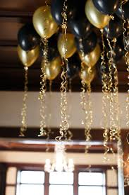 black gold party saints parties celebrations full size furniture ideas black and gold 30th birthday