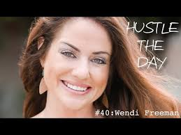Hustle the Day: Wendi Freeman - Be Bright Events - YouTube