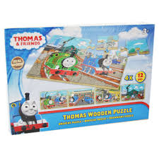 thomas wooden puzzles thomas friends 4 x 12 pieces
