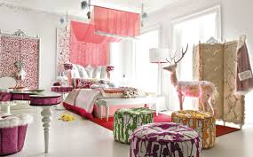 teenage girl furniture ideas. Choose Pink Canopy For Stunning Bed In Enchanting Teen Girl Room Ideas With White Bench And Teenage Furniture