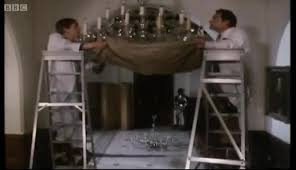 del and rodney smash the chandelier only fools and horses bbc gif find make share gfycat gifs
