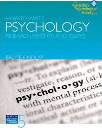 how to write psychology research reports and essays bruce  how to write psychology research reports and essays