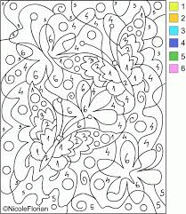 These free, printable preschool coloring pages are fun for kids. Coloring Pages Color Coded To Print Coloring Home