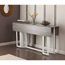 ideas console tables drop leaf console table dining for small