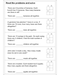 math worksheet multiplication world problems