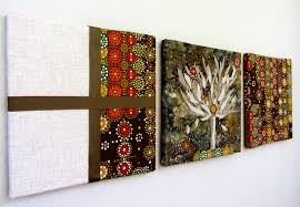 gorgeous wall decoration for home interior using contemporary fabric wall art creative wall decorating design