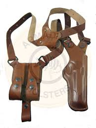 picture of armadillo holsters vertical shoulder holster for glock 21 models