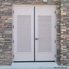 Hollow Metal Doors With Louvers Doors With VentsAluminum Louvered Exterior Doors