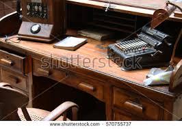 old office desk. Vintage Office Old Desk D
