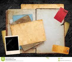 old book layout stock image image of polaroid insert 18886071