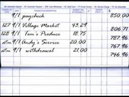 Check Ledger Book How To Balance A Checkbook How To Balance An Account Register