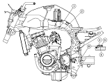 kawasaki ninja zx 7r wiring harness and electrical specs