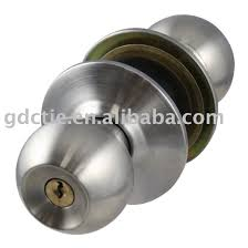 Stainless Steel Rotation Round Door Knobs Handle Entrance Interior ...
