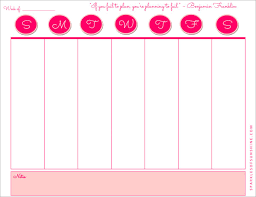 Weekly Planning Weekly Planner Free Printable Sparkles Of Sunshine