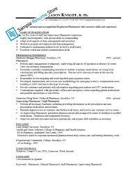 pharmacist resume sample info sample pharmacist resume berathen com