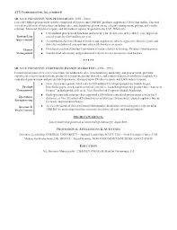 Resume Examples Professional Stunning Profile Section Of Resume Example How To Write A Good Resume Proper