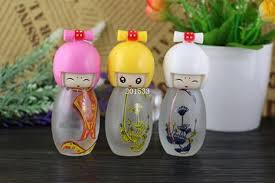 Decorative Spray Bottle 100ml Multi Color Dolls Glass Perfume Spray Bottle Decorative 36