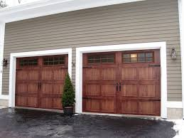 faux wood garage doors lovely on other inside 35 best images 6