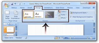 themes for ms powerpoint where is the themes in microsoft powerpoint 2007 2010 2013 and 2016