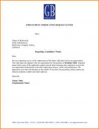 Job Letter Template From Employer Employment Verification Form Template Template Business