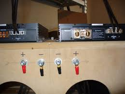 how to wire your sundown amp and strap it too sundown audio next thing is to hook up the positive speaker wires on the master amp the one the br out like so
