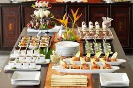 buffet table ideas decorating