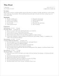 Housemaid Resume Sample Best Of Stand Out Resume Examples Housekeeping Resume Example Housekeeper