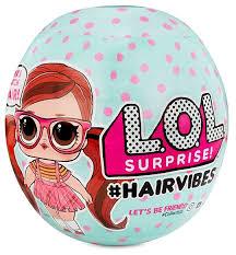 <b>Кукла</b>-<b>сюрприз</b> L.O.L. Surprise 7 серия Hairvibes в шаре, 564751 ...