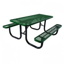 ilife ada 2 chair supersaver commercial rectangular picnic table 688 85