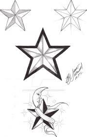 Nautical Star Designs Nautical Star Flash 1 By Marked4lifetattoos On Deviantart