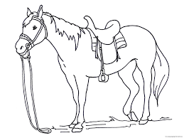 Small Picture Printable Horse Coloring Pages Horses Coloring Pages Free Coloring
