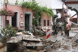Flooding Devastates Germany ...