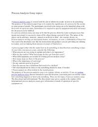 sample essays process analysis examples image 3 examples of process writing essays