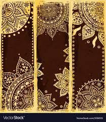 Design Bookmarks Set Of Ethnic Bookmarks
