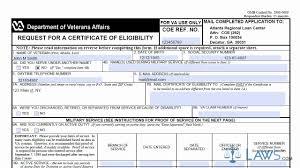 Best Ideas Of Va Letter Of Eligibility Easy Va Certificate Of