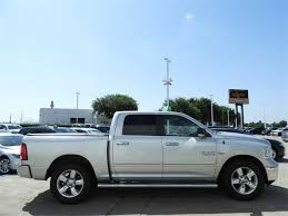 Used Bright Silver Clearcoat Metallic 2015 Ram 1500 2WD Crew Cab 5.7 ...