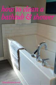 vinegar to clean bathtub jets ideas