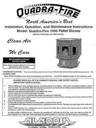 quadrafire pellet stove parts quadra fire quadrafire 1000 user manual pellet