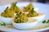 bacony deviled eggs
